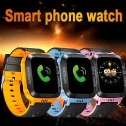 Детские умные часы SOS Smart Watch Водонепроницаемые наручные часы для безопасности детей Анти-потерянный GPS-трекер SIM Call Phone наручные часы от