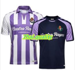 2019 vêtements en tissu multifonction nouveau 18 19 Real Valladolid T-shirts Chemises Casual 2018 2019 chemises Nouveau Loisirs Meilleure Qualité Casual