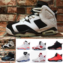 info for 297b2 2ca0f Nike Air Jordan 1 4 6 11 12 13 Retro Designer Herren 6 6s Basketballschuhe  Tinker UNC Blau Schwarz Katze Weiß Infrarot Rot Carmine Maroon Toro Herren  ...