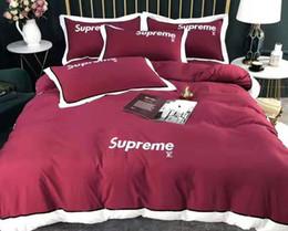 fogli di regali di rosa Sconti Warm Cotton Home Textile adulti morbida Federa Bed Duvet Solid copertura Asiatica Misura Quilt Cover Brief Biancheria