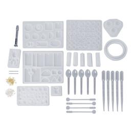 229 Adet Silikon Kaşık Sopa Damlalıklı Kombinasyon Tool Kit DIY Epoksi Reçine El Sanatları Takı Kalıpları Yapma Kek Dekorasyon Aksesuarla nereden