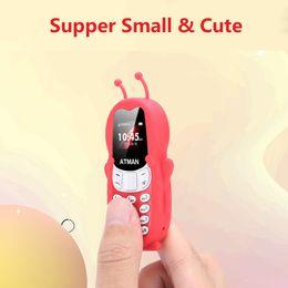 Микро-бесплатные телефоны онлайн-V5 Мини Bluetooth гарнитура Малый сотовый телефон Bluetooth Поддержка мобильных и Unicom 2G Micro SIM-карты с бесплатным ребенком случае