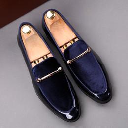 calcanhar glitter borgonha Desconto Moda italiana elegante sapatos oxford para mens sapatos tamanhos grandes homens sapatos formais homens de couro vestido mocassins homem escorregar em masculino tamanho: 39-44