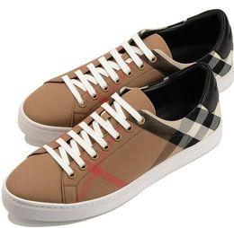 Nouveau Hommes Styliste Chaussures Casual en Cuir Véritable Low Top Hommes en Cuir Casual Treillis en Toile Couture à Lacets Baskets Extérieures 22 ? partir de fabricateur