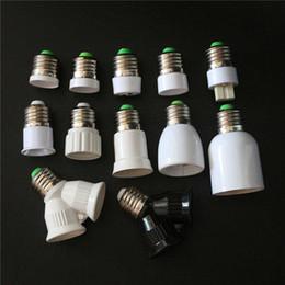 Adaptadores e27 e12 online-1 unids E27 B22 E12 G9 Gu10 Mr16 E14 E17 E40 G24 2e27 Base de lámpara Led Luz de bombilla de maíz Sostenedor de la lámpara Convertidor Adaptador de zócalo de conversión