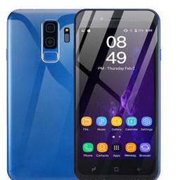2019 4g chinesisches handy [Grenzüberschreitende Exklusivversorgung] Übersee-Explosionsmodelle S9 Android 5.0 Zoll, 1 + 4G-Smartphone Unicom 3G-Netzwerk, kostengünstiges Mobiltelefon