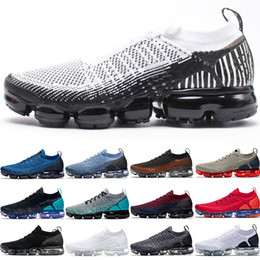 Canada Nike Air Vapormax Pas cher 2.0 Hommes Femmes Chaussures De Course Triple Noir Blanc Rouge Orbit Olympic Mango Crimson Concepteur Sport Trainer Sneaker cheap black white arts Offre