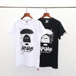 Nuevo diseño de marca de ropa de hombre Camiseta AAP Camiseta japonesa Estilo de moda de algodón puro Tops de hombres y mujeres Camiseta de alta calidad Verano T-shir desde fabricantes