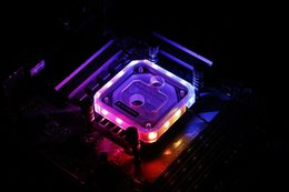 v2 case Promo Codes - Barrow LTYK3A-04 V2 LRC2.0 RGB CPU Water Cooling Block for AMD FM1 FM2 AM2 AM3 AM4