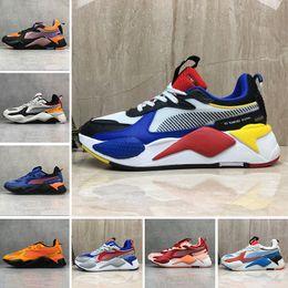 chaussures de zapatos puma rs x 2019 Moda Alta Qualità RS-X Giocattoli Reinvenzione Scarpe colorate traspiranti Nuove donne uomo Running Trainer Casual Sneakers designer 36-45 da