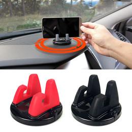 Soporte móvil online-360 grados del soporte del teléfono del coche del tablero de instrumentos que se pega soporte del soporte del teléfono móvil soporte para menos 6 pulgadas soporte de escritorio del teléfono soporte soporte