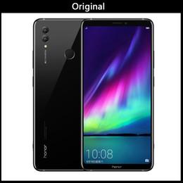 примечание разблокированные сотовые телефоны dual sim Скидка Оригинал Huawei Honor Note 10 Глобальная прошивка разблокирована сотовый телефон Octa Core 64 ГБ / 128 ГБ Двойная камера заднего вида 24MP 6,95 дюймов Android 8.0