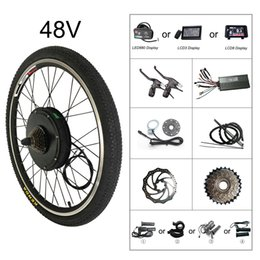 kit di pedale diy Sconti CSC Electric Bike Motor Conversion Kit ebike 48V 1000W per Mountain Bike 20-29inch 700C con display LCD di rigenerazione e funzione Bluetooth