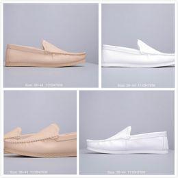 Milch schuhe online-2019 sommer Neue Männer Schuhe für Designer Französisch faul stil Schuhe Herren Moderne milch Freizeitschuhe Männlichen Einzigartige top qualität Outdoor Chaussures
