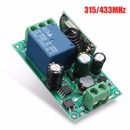 Deutschland 220 V 1 Kanal Wireless Relay RF Fernsteuerungsschalter Heterodyne Receiver 315 / 433MHZ Versorgung