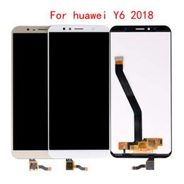 super tela de frete grátis Desconto 10pcs Display LCD Para Huawei Y6 primeiro-2018 LCD ATU L11 L21 L22 LX1 LX3 L31 L42 LCD Touch Screen digitador Assembl