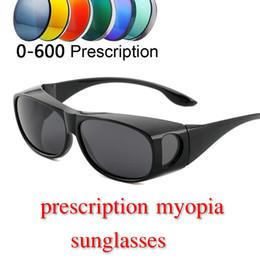 446ea4e9913 MINCL 2019 new ultra light men myopia polarized sunglasses retro designer  ladies sandproof prescription sunglasses with box NX