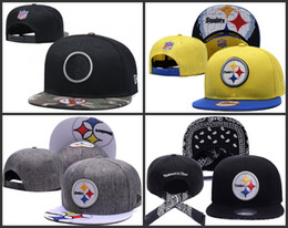 Canada 2019 Pittsburgh Hommes Steelers Sport Hip Hop Fitted Casquettes Coton Mode Casual Femmes Chapeaux Offre