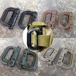 Moda Plastik Tırmanma Yürüyüş D-Ring Anahtarlık Dayanıklı Klip Kanca Toka Moda Dağcılık Çantaları cheap plastic key hook nereden plastik anahtar kancası tedarikçiler