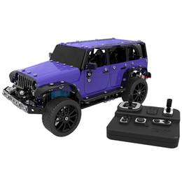 Kit remoto rc on-line-SW - (RC) - 004 4WD 1/16 RC Modelo de Carro de Aço Inoxidável Para Diversão RC Jeep 2.4G 3.7 V Carros de Controle Remoto Brinquedos