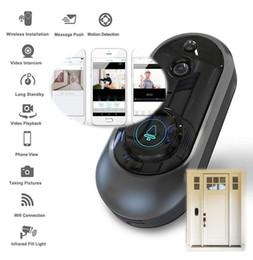 Telefondetektoren online-Smart Wireless WiFi Telefon Türklingel mit Kamera Smart Video Intercom Ring Türklingel Bewegungsmelder Nachtsicht