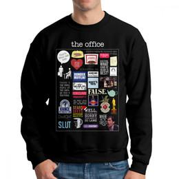 2019 элемент hoodies Офис элементы старинные мужчины толстовки толстовка с длинным рукавом хип-хоп хлопок пуловеры легкий для мужчин дешево элемент hoodies