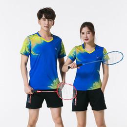 bfcca73815 8 Foto Compra Online Abbigliamento da tennis da tavolo da volano-Nuovo  abbigliamento sportivo Qucik dry Badminton