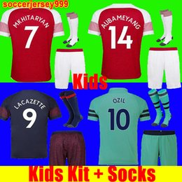 502bd044dce Thailand Arsenal soccer jersey football shirt Fußball Trikot Trikot Trikots  für Kinder Trikots 18 18 AUBAMEYANG LACAZETTE MKHITARYAN WILSHERE 2018  RAMSEY ...