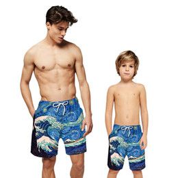 FullBo Vintage Canadian American Flag Little Boys Short Swim Trunks Quick Dry Beach Shorts