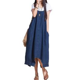 Tuta premaman Jeans Summer Denim Strapped Dress Abiti gravidanza Abiti per donne in gravidanza Robe Maternità da