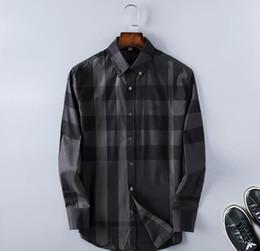 2019 camisa preta gravata branca Moda Masculina Camisas Mangas Compridas Cor Sólida Camisa Ocasional 2019 Inverno Nova blusa de Slim gola mandarim OverShirt do Adolescente 5643