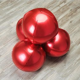 Canada 4d Ballon En Aluminium Feuille Décor Européen Et Américain Festival De Noce Bonne Année Feuille Ball10inch 15 18 22 32 pouces Offre