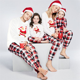 f89975ae2f Family Matching pyjamas Set Xmas Family Match Pajamas Set New Arrival Hot Christmas  Adult Women Men Kid Sleepwear Nightwear discount matching family ...
