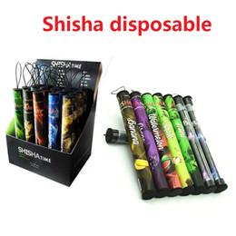 E shisha canetas de frutas on-line-Shisha Caneta Eshisha Descartáveis Cigarros Eletrônicos Shisha Tempo E Cigs 500 Sopros 30 Tipo Vários Sabores De Frutas Cachimbo de Água Canetas E Cigarro