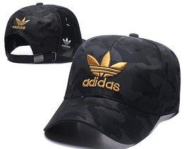 Frauen denim hüte online-Hot Designer Herren Baseballmützen Marke New Denim Luxus Hüte Gold Gestickte Knochen Männer Frauen Casquette Sun Papa Hut Gorras Sport Snapback Cap