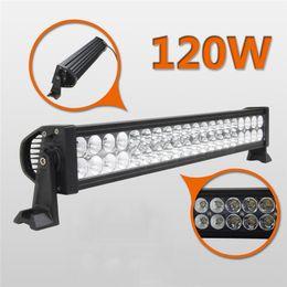 "25/""inch 120W Epistar LED Work Light Bar Combo Offroad ATV Truck Single Row 22//24"
