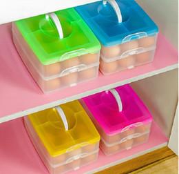 12 boîte de stockage d'oeufs Portable transporter en plastique porte-oeuf titulaire titulaire cas panier se pliant pour pique-nique de voyage en plein air ? partir de fabricateur