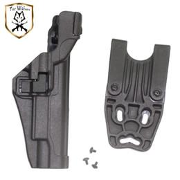 Coldre, Tactical OWB Gun coldres de pistola mangas Pistola coldres Bloqueio Auto Release Fit para arma Colt 1911 de Fornecedores de bolsa de mag pistola dupla