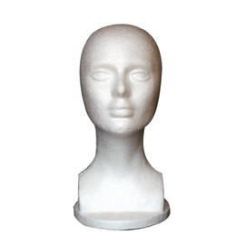 Cabezas de cabello modelo online-Nueva Espuma Maniquí Maniquí Cabeza Modelo Shop Peluca Cabello Joyería Soporte de exhibición