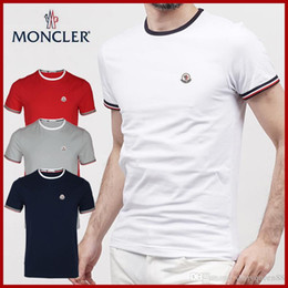 Nouveau Luxe Mon Marque Hommes T-Shirt D'été D'été Tee-shirt Anglais Français Style Manches Courtes Hommes Tee Hommes Chemise ? partir de fabricateur