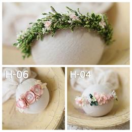 2020 головные уборы для девочек новорожденный ребенок повязки Девушка цветок принцесса ручной работы головные уборы фото съемка аксессуар новорожденный фотографии скидка головные уборы для девочек
