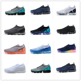 ronaldo zapatos de fútbol Rebajas 2019 Barato 2.0 Zapatillas deportivas Cojín de aire Zapatillas de deporte para hombre Negro Blanco de lujo Diseñador Vapors Athletic Zapatillas deportivas al aire libre Tamaño 40-46