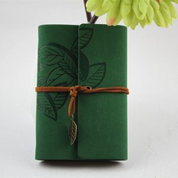 core accounts Promo Codes - Loose Leaf Notebook With Faux Leather Cover Resurrection Leaf Strap Loose Leaf Inner Core Notebook Diary Note Book Office Items BH2495 CY