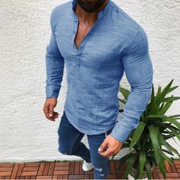 Camiseta de manga comprida branca on-line-2019 Designer de Verão Camisetas Para Homens Tops Homem Branco Preto Cinza Camiseta Mens Roupas Marca T-Shirt Camiseta de Manga Longa Tshirt M-3XL Tees