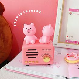 2019 brinquedos de borracha Gritando Porco Mini Rosa Porco Ventilação Brinquedos Squeeze Lento Rising Apaziguador do esforço Brinquedo de estimação De Borracha Squishy Descompressão brinquedos Decoração de Casa