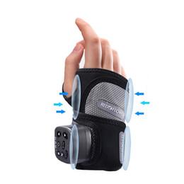 bambole di massaggio Sconti MQUPIN Airbag massaggio cinturino fasciatura guanto da palestra polso sportivo polsini elastici portafogli portafogli con tasca tascabile di sicurezza