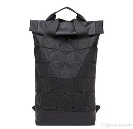 mochilas de niños pequeños Rebajas Moda salvaje Forma de rombo Mochila Nuevo simple y generoso Estudiante de gran capacidad Casual Mochila doble jooyoo