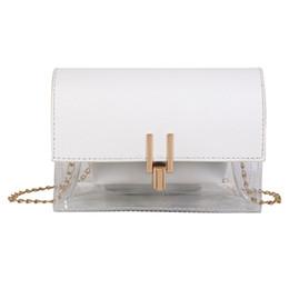 cadc215a91 Borse per le donne 2019 Fashion Luxury Chain Leather Ladies Hand Bags Retro  Bianco Lusso Borse Donna Designer borse a mano bianche offerte