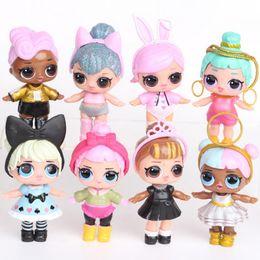 Decorações bonitos da tabela on-line-fashion cartoon 9CM cute doll model, cartoon doll home decoration table for ,children's toys children's birthday gifts T2G5023
