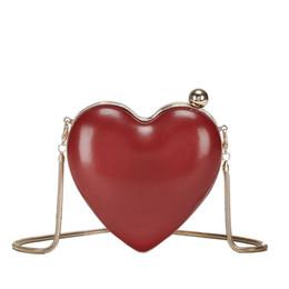 lindo coração Desconto Adorável coração dia doce embreagens saco para mulher YH156 senhoras meninas vermelho marrom preto mini mensageiro cadeia saco